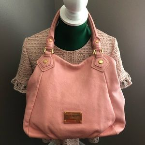 Marc by Marc Jacobs Q Fran Rose Pink Satchel